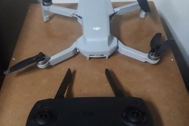 Operador de drone é preso após sobrevoar a cadeia de Paranavaí