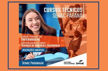 Senac Paranavaí abre inscrições em cursos técnicos na área de enfermagem