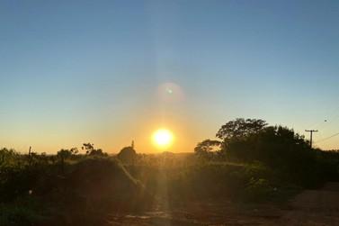 Tempo estável e máxima de 30°C são previstos para o final de semana em Paranavaí