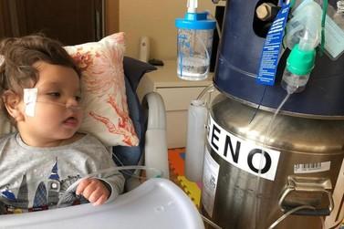 Vakinha Online arrecada dinheiro para tratamento de bebê com problemas cerebrais