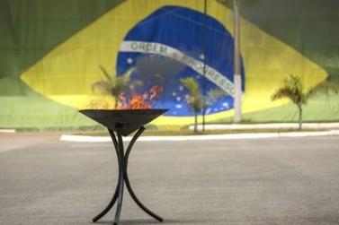 Exército Brasileiro vai incinerar bandeiras nacionais inservíveis em Porto Velho