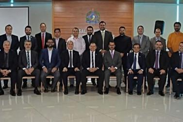 Novos membros do Conselho Superior e corregedor geral da PGE tomam posse