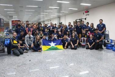 Rondônia conquista 38 medalhas nas Paralimpíadas Escolares em São Paulo