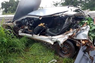 Servidora pública morre em grave acidente na BR-364