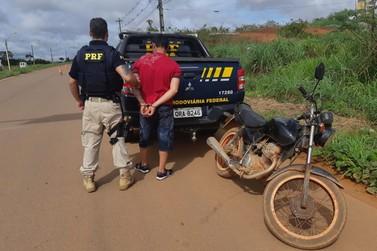 Foragido por tráfico é recapturado após fornecer o nome de seu irmão