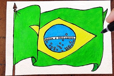 Inscrições para concurso de desenho da Bandeira Nacional começam em fevereiro