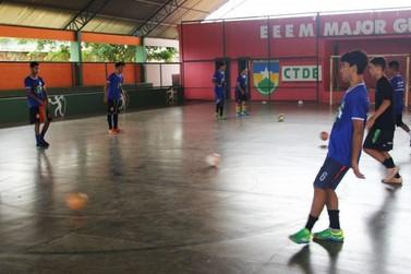 Futsal da escola Major Guapindaia representará Rondônia em nível nacional