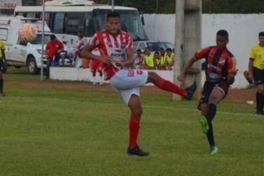 Gabriel Ramos faz estreia no profissional pelo Real Ariquemes