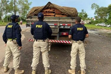 PRF registra dois flagrantes de Crime Ambiental