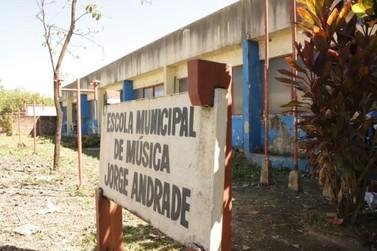 Escola de Música Jorge Andrade será revitalizada