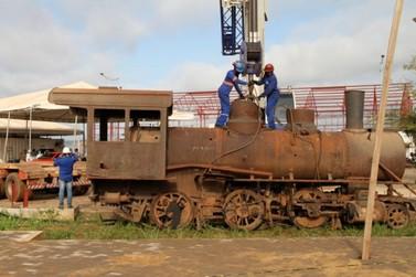Locomotiva 6 deixa Madeira-Mamoré para ser vista no Memorial Rondon, na Capital
