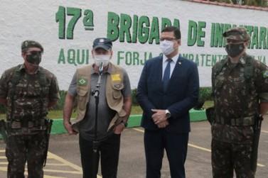 Ministro da Defesa visita Porto Velho e acompanha resultados da Verde Brasil 2