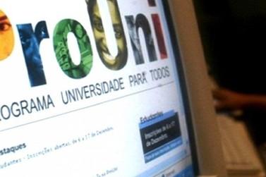 Prazo para inscrições no ProUni encerram nesta sexta-feira