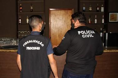 Procon anuncia medidas drásticas para bares que descumprirem decreto, na Capital
