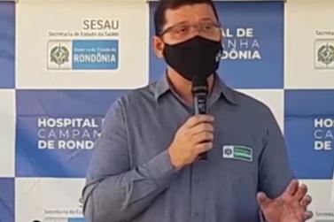 Mensagem do governador aos pais do Estado de Rondônia