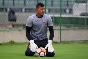 União Cacoalense acerta empréstimo do goleiro Gabriel Félix