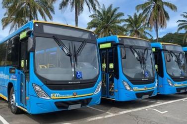 Primeiros ônibus da nova frota do transporte coletivo chegam à Porto Velho