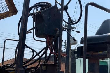 Vândalos danificam máquinas da Secretaria de Obras em Porto Velho