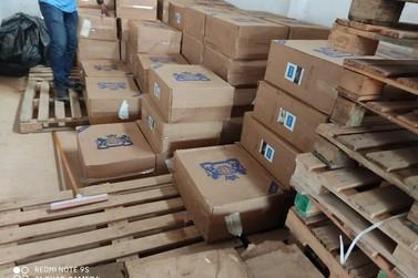 PF estoura mais um depósito de contrabandeados em Guajará-Mirim