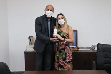 Deputado garante apoio a empreendedora de São Miguel do Guaporé