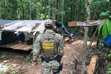 PF e Ibama combatem crimes ambientais em Terra Indígena Rio Mequéns em RO