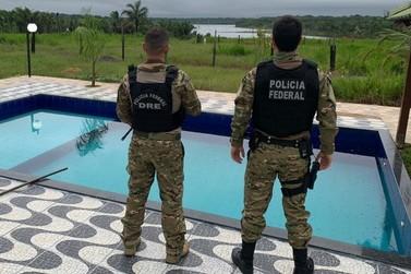 PF apreende bens no sítio do maior traficante de RO, preso no mês passado
