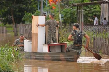 Acre: enchentes atingem 120 mil pessoas e estado já teme desabastecimento
