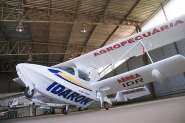 Fiscalização da sanidade animal é reforçada em RO com aquisição de aeronave