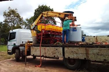 Presidente da ALE assegura implementos agrícolas para Associação em Campo Novo