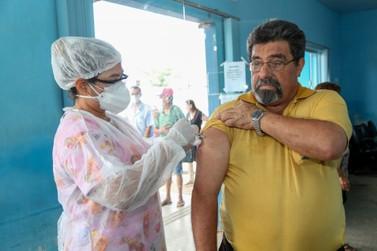 Rondônia inicia aplicação da 2ª dose da vacina contra a covid-19