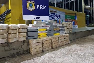 PRF intercepta carga de cocaína avaliada em quase 13 milhões em Porto Velho