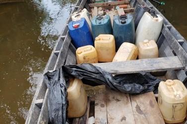 Homem é preso em flagrante pela PF por transportar gasolina contrabandeada