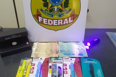 Homem que distribuía cédulas falsas no comércio de Porto Velho é preso pela PF