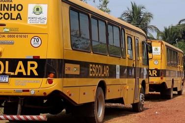 Transporte escolar rural começa a circular com retorno das aulas presenciais