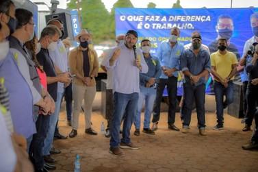 Alex Redano assegura R$ 300 mil e acompanha início de obras em São Miguel