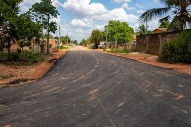 Bairro Ronaldo Aragão tem 100% das ruas regularizadas asfaltadas pela Prefeitura