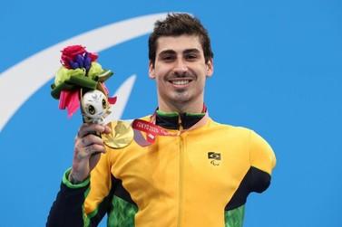 Catarinense Talisson Glock fatura seu 1º ouro nos 400m livre em Tóquio