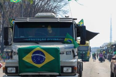 Manifestação dos caminhoneiros em Rondônia entra no terceiro dia