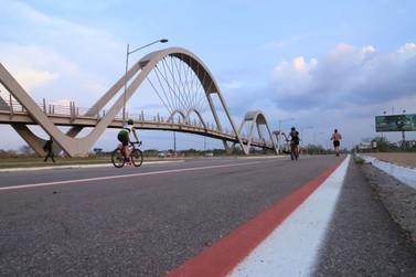 Prefeitura instala ciclofaixa no Espaço Alternativo em Porto Velho