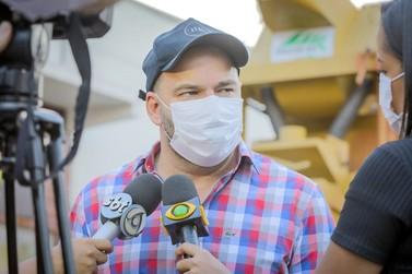 Presidente Alex Redano enaltece ações do Governo na região Central do estado