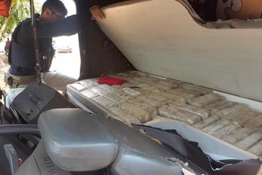 PRF intercepta carregamento com quase 300 quilos de maconha em Rondônia