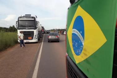 Protesto dos caminhoneiros entra no 2º dia em RO; veja os pontos de bloqueios