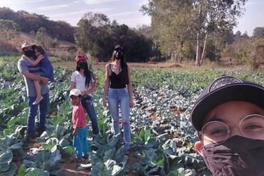 Alunos de agronomia da UNA participam de projeto gerencial no campo