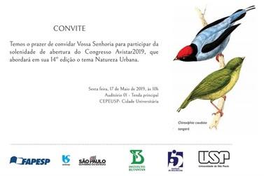 Avistar Brasil – 2019 -  Encontro Nacional de Observação de Aves