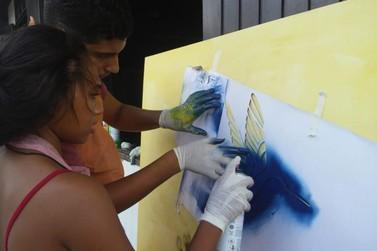 Cultura da Ilha mantém abertas as inscrições para oficina de graffiti