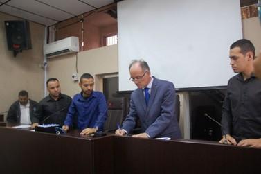 Nilton Hirota é empossado como prefeito de Registro na manhã de hoje (28)