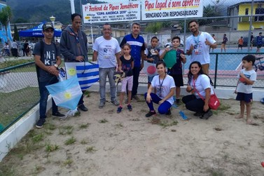 1º Festival de Pipas Temático de Miracatu: Copa América