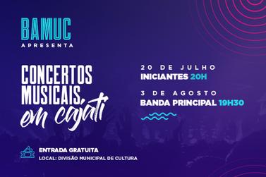 Banda Municipal apresenta concertos gratuitos