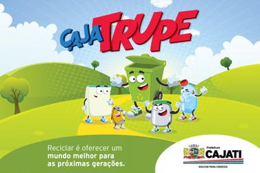 Cajatrupe: os personagens da reciclagem em Cajati