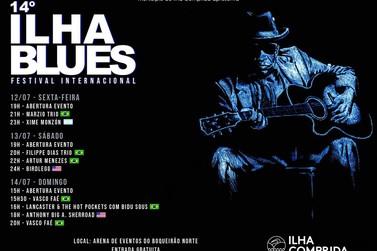 Com shows nacionais e internacionais, Ilha Blues Festival